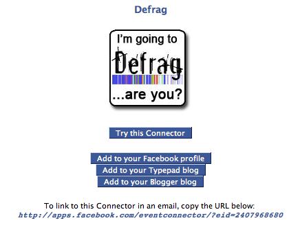 Defragconnectorscreenshot