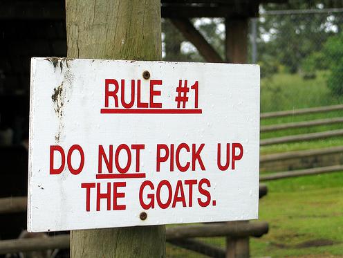 Goatwarning