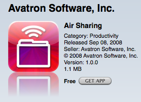 Airsharing