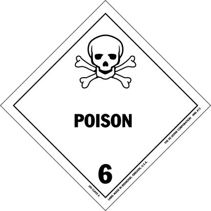 Poisonlabel