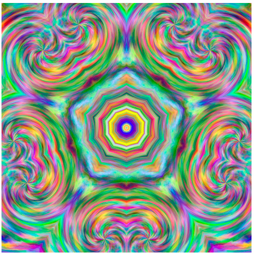 Pentagonalkaleidoscope
